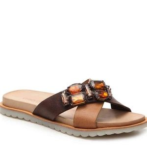 🌹 NEW Charles David Embellished Leather Sandals